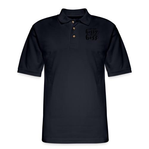 i am the boss - Men's Pique Polo Shirt