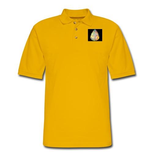 Go Bang Nail Art - Men's Pique Polo Shirt
