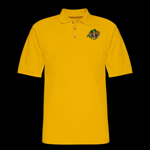 xB ARK (Tattoo Style) - Men's Pique Polo Shirt