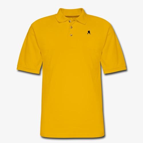 Grey Hockey Sweater - Men's Pique Polo Shirt