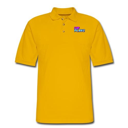 CipPlayz MIAMI TEXT - Men's Pique Polo Shirt