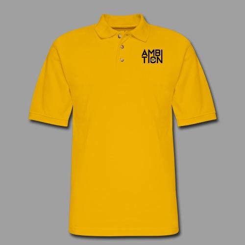 Ambitionitis - Men's Pique Polo Shirt