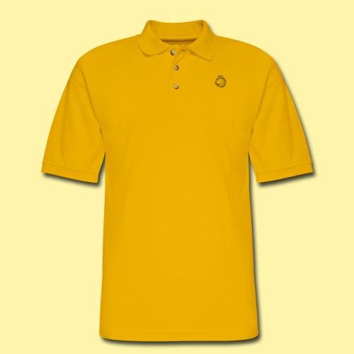 scree - Men's Pique Polo Shirt