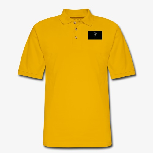 Keep Calm and Use the Force - Men's Pique Polo Shirt