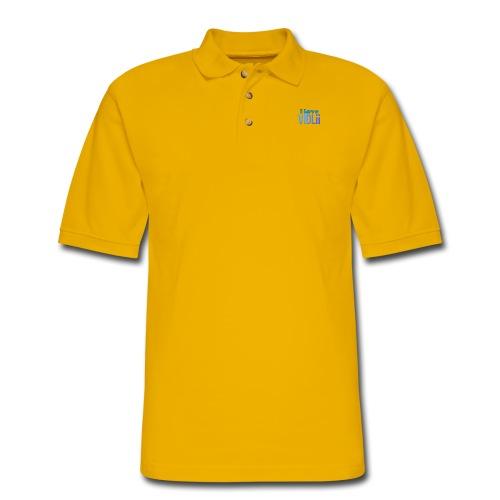 I Love VidLii - Men's Pique Polo Shirt
