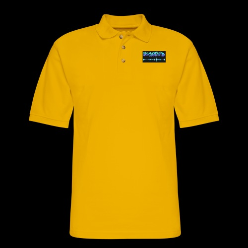 unconfined design1 - Men's Pique Polo Shirt