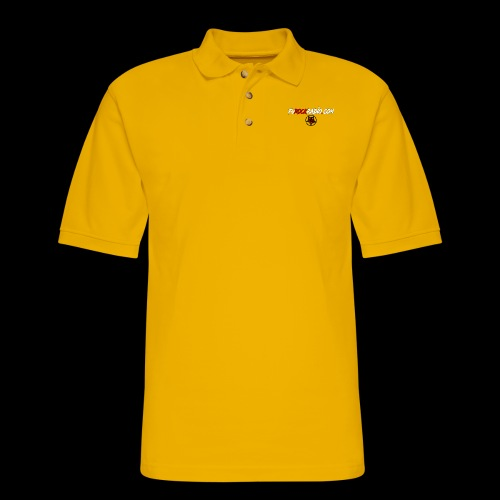 FuROCK Radio Website - Men's Pique Polo Shirt
