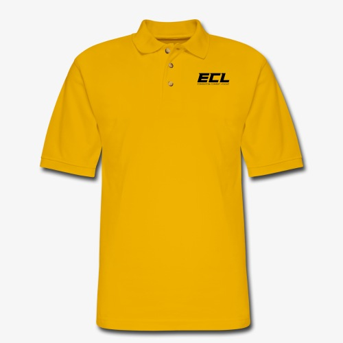 ECL Official Tee - Men's Pique Polo Shirt