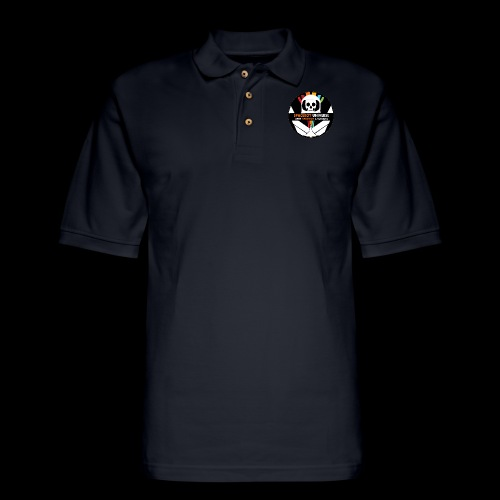 Spaceboy Universe Logo - Men's Pique Polo Shirt