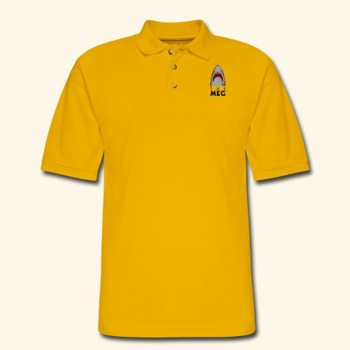 The Meg - Men's Pique Polo Shirt