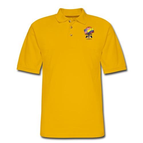 COLUMBIAN USA E02 - Men's Pique Polo Shirt