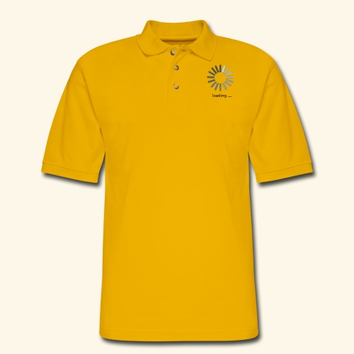 poster 1 loading - Men's Pique Polo Shirt