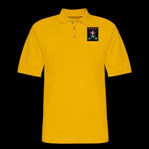 Eye Rock IPK Design - Men's Pique Polo Shirt