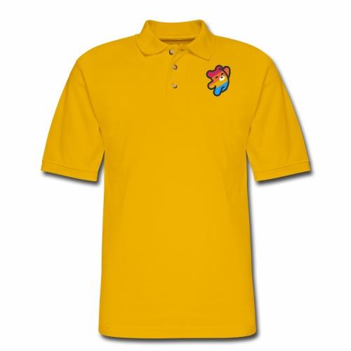fire as life - Men's Pique Polo Shirt