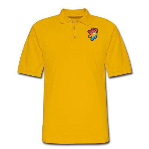 fire as life - Men's Pique Polo Shirt