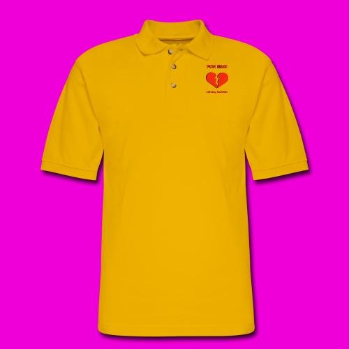 punk blood collective print - Men's Pique Polo Shirt