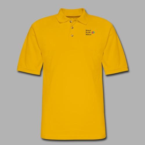 Mental Health Matters - Men's Pique Polo Shirt