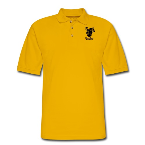 MetalCow Solid - Men's Pique Polo Shirt