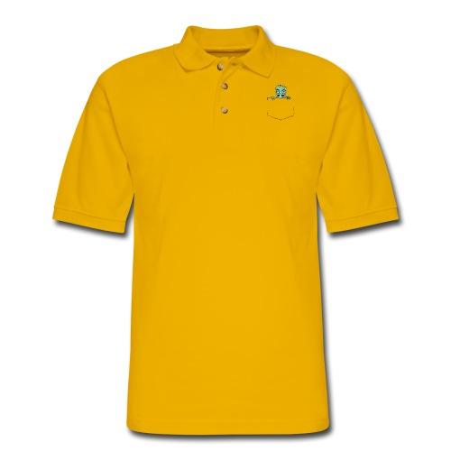 Pocket Trolls - Men's Pique Polo Shirt