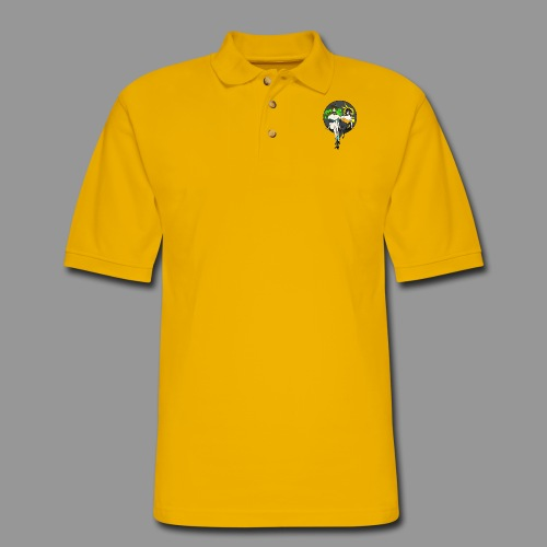 Leiur and Phara Tiddy Bunsuit - Men's Pique Polo Shirt