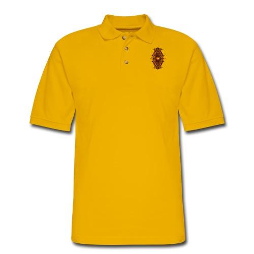 Eternal Voyage III - Fire - Men's Pique Polo Shirt