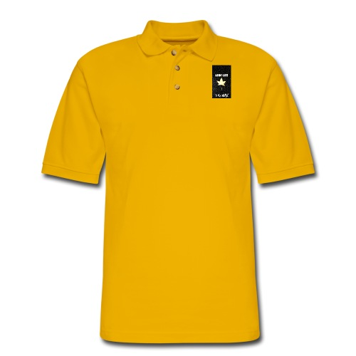 Leaf life to the MAX - Men's Pique Polo Shirt