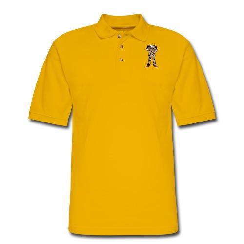 The Classic Cow Suit - Men's Pique Polo Shirt