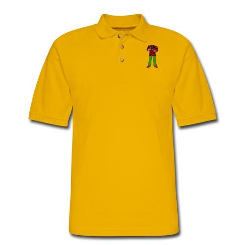 The Red Cow Suit - Men's Pique Polo Shirt