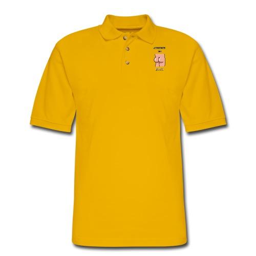 Appreciate The Butt - Men's Pique Polo Shirt