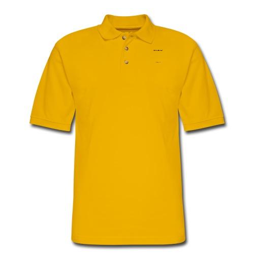 Rule Breakin' Bitch Black Lettering - Men's Pique Polo Shirt