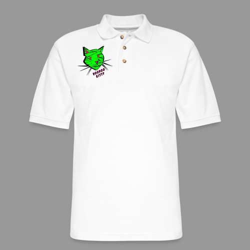 Voodoo Kitty - Men's Pique Polo Shirt