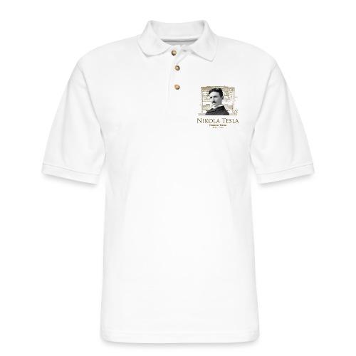 Nikola Tesla - Men's Pique Polo Shirt