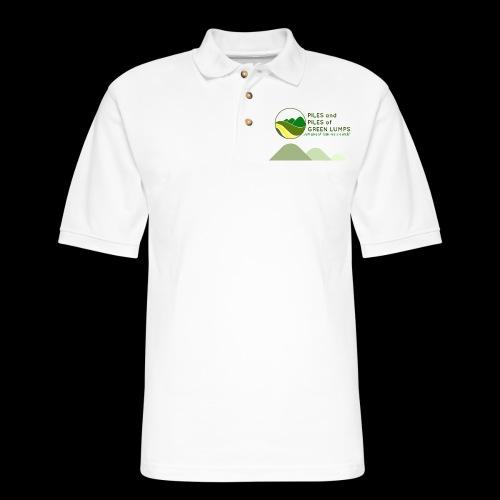 PILES & PILES of GREEN LUMPS! - Men's Pique Polo Shirt