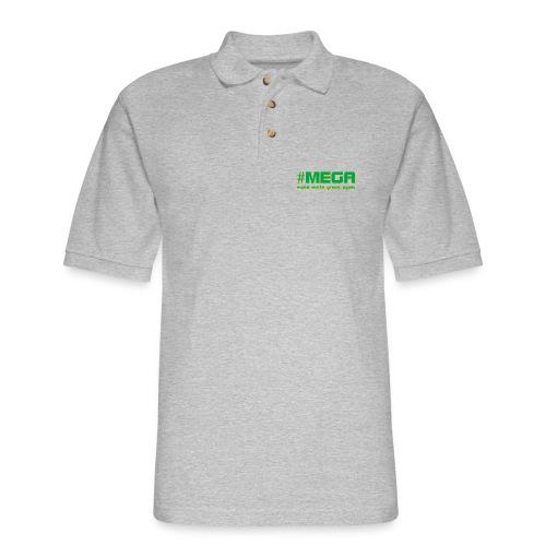 #MEGA - Men's Pique Polo Shirt