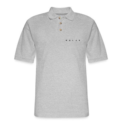 Relax - Men's Pique Polo Shirt