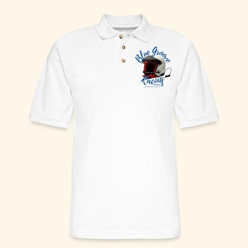 BGR Helmet - Men's Pique Polo Shirt
