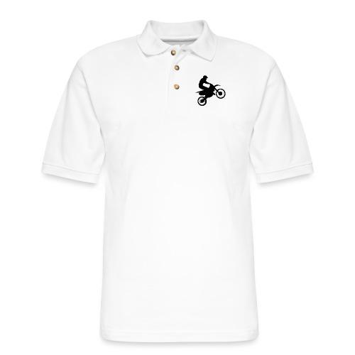 Motocross - Men's Pique Polo Shirt