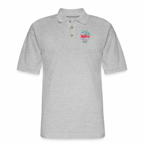 Hijama/Cupping/ Cupping therapy/ BD Health - Men's Pique Polo Shirt