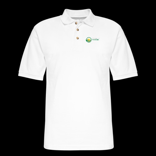 What is the NATURE of NATURE? It's MANUFACTURED! - Men's Pique Polo Shirt