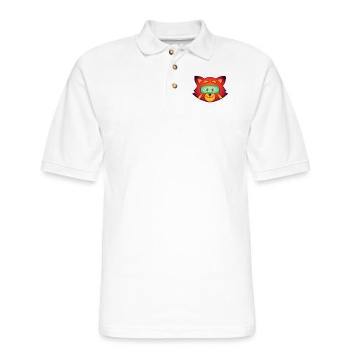 Foxr Head (no logo) - Men's Pique Polo Shirt