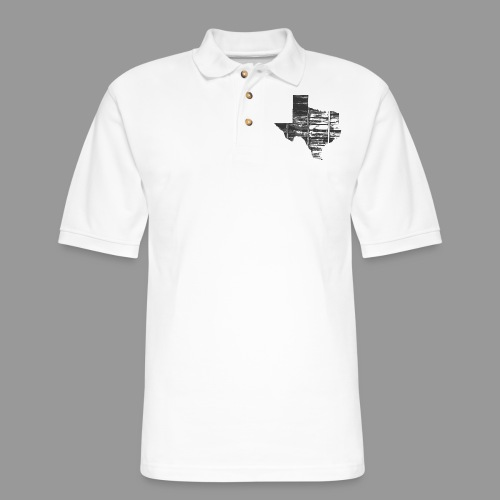 Real Texas - Men's Pique Polo Shirt