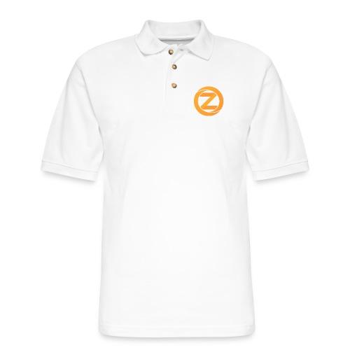 Just the logo - Men's Pique Polo Shirt