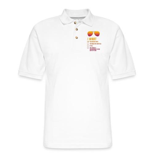 I Want To Break Free retro - Men's Pique Polo Shirt