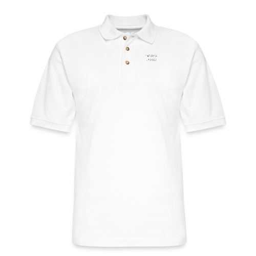 I can't be mean. I'm allergic - Men's Pique Polo Shirt