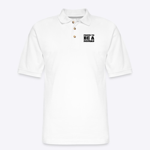 Proud to BE A Nomad - Men's Pique Polo Shirt