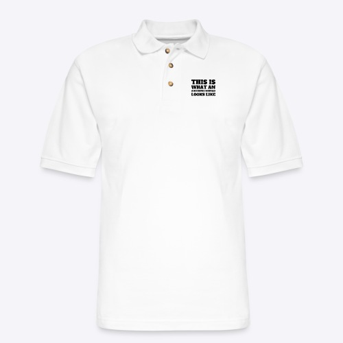 This is What An Awesome Nomad Looks Like - Men's Pique Polo Shirt