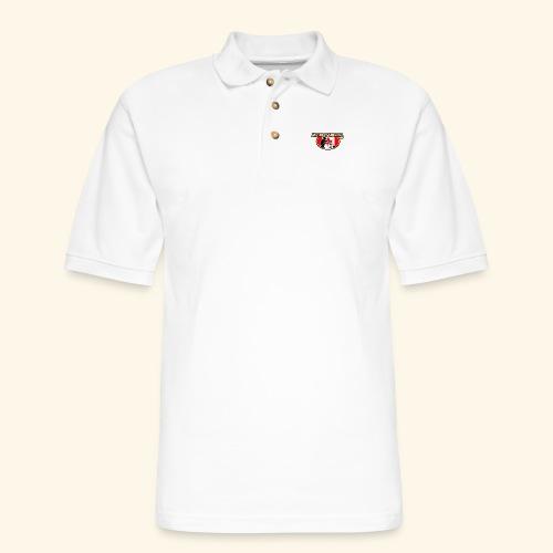 Muskrat Badge 2020 - Men's Pique Polo Shirt