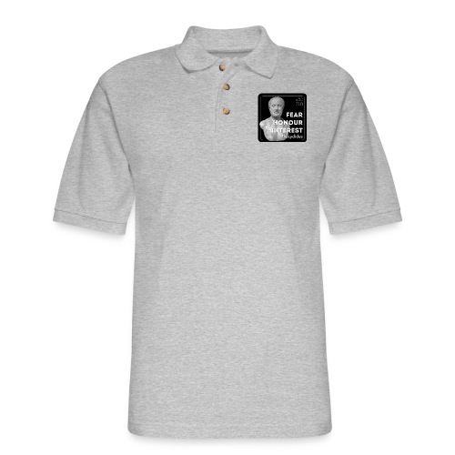 Fear, Honour, Interest - Men's Pique Polo Shirt
