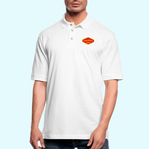 Stonersmite - Men's Pique Polo Shirt