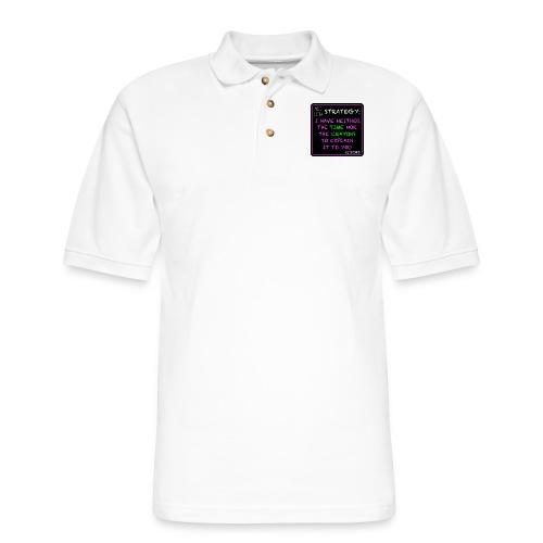 Strategy - Men's Pique Polo Shirt